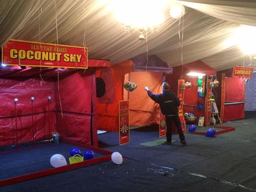 rent fair ground stalls