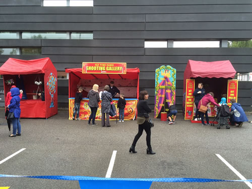 fair ground stalls for hire in the uk
