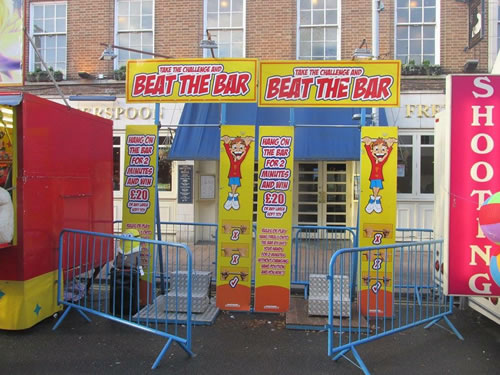 game stalls for hire