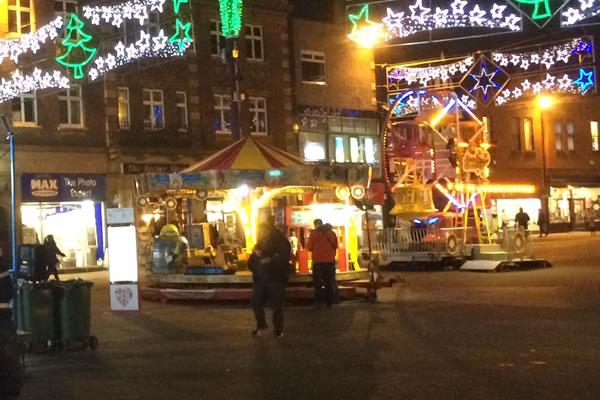 christmas carousel rentals